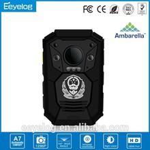 Hot product IP 67 waterproof police camera support PTT walkie-talkie