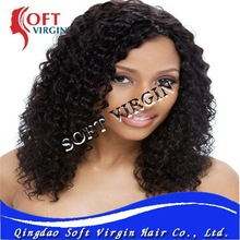 Fashional Model Style 100% Brazilian Human Hair French/Swiss Lace Wig