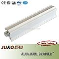 Extruido blanco en polvo de perfil de aluminio