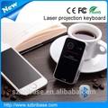 fresco y el más nuevo inalámbrico virtual de proyección láser teclado con ratón para el teléfono inteligente pc tablet y dispositivos de hid