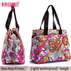 vivisecret latest customized multifunctional woman's nylon shoulder bag