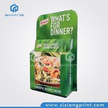 OEM/ODM Custom Design Supermarket Pos Material Paper Holder for Flyer