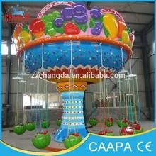 2013-2015 Latest changda Watermelon Theme!! Fruit Flying Chair!! Kiddie Games,Kiddie Games for sale