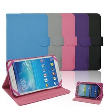 Common tablet 7 inch 8 inch case, leather flip universal stand case for 7 inch 8 inch tablet PC