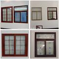 templado de vidrio de ventanas y puertas de aluminio de foshan