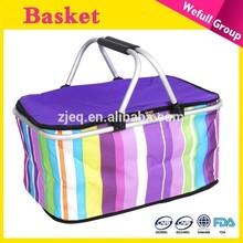 Hot Sale Oxford Fabric Wholesale Picnic Basket Set For Sale
