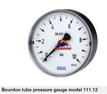 WIKA 111.12 Center Back Mount General Service Pressure Gauge