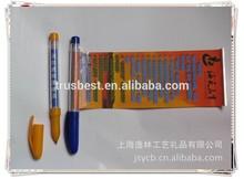 TB-06 Customize Flag banner pen, new design AD banner pen