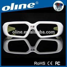 OLINE high light efficiency 3d glasses shutter NX-30 for professional cinema