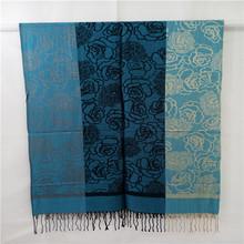 Newest Design Novel Cheapest fashion pashmina scarf and shawl for Lady