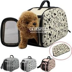 New design pet air box EVA pet carrier bag