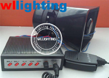 High quality DC12V,100W ,5tone,2 light switch warning siren/amarm +100W loudspeaker for police/ambulance/fire