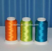 supplier polyester embroidey thread/yarn/filament/spool 120D/2,150D/2,300D/2