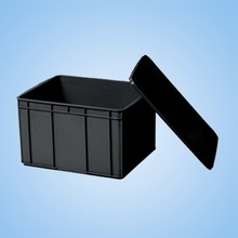 ESD Circulation Box For Component Package / ESD PP Container For Anti-static Protection Used