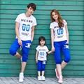 família conjunto de roupas