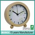 Hermoso diseño dial reloj de madera/reloj de madera artesanias/mueblesdeldormitorio reloj de escritorio