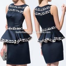 Original Design Mini Appliques Sleeveless Cocktail Dress Short Cocktail Dress