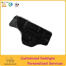 Wholesale Leather Black Gun Holster Gun Cover