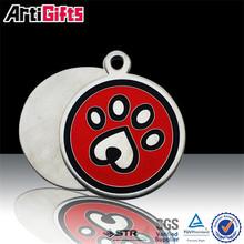 factory custom made metal engraving dog tag