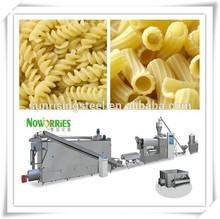 De alta calidad completa línea automática italiano pasta macarrones que hace las máquinas/maquinaria/italia/más popular en el mercado