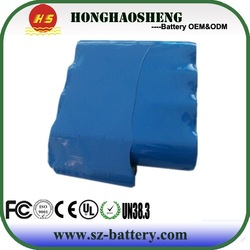 li-ion battery 18650 7.4v 6600mAh LED head light bike