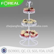 15 cups metal powder coating mini cake stand