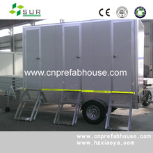 steel structural container kiosk prefabricated modular mobile trailer