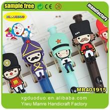 Fashionable new arrive customized soldier pen topper/pen charm