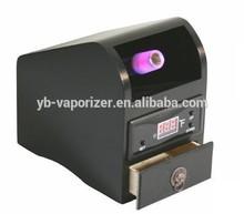 110v or 220v vp102 electronic tobacco evaporator smoking digital vaporizer + Herb grinder+ metal smoking pipe+pollen press