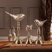 Wholesale a set of three fashional birds desktop crafts home decor