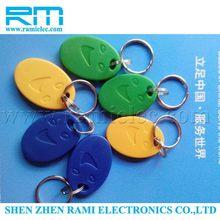 Top grade most popular updated rfid key plastic tag