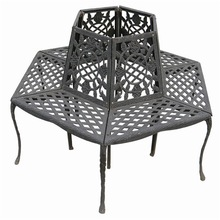 2015 black metal outdoor furniture