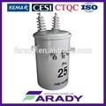 7970v 25 kva sobrecarga pólo montado imersos em óleo transformador elétrico tipo convencional