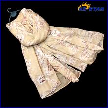 HZW-13429002 latest wholesale new twill silk thin wholesale viscose scarf rayon shawl