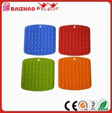 4-pack Silicone Pot Holder/Silicone Heat Resistant Coasters