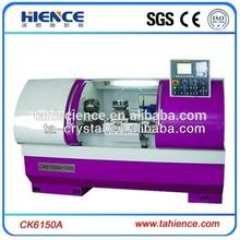 Large diameter swing 500 metal horizontal cnc lathe made in china CK6150A