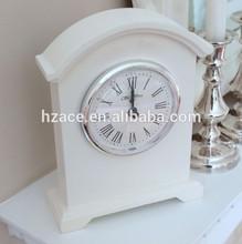 Wooden Arch Mantel Clock