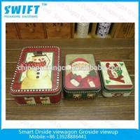 Fashion gift tin box for tea