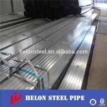 Q195 square pipe/pre galvanized pipe/rectanglar Gi pipe