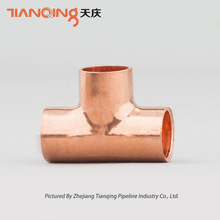 T101-AS10 Copper Equal Tee Constructional Material & Hardware used AS3688