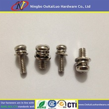 High Quality Cross Recessed Pan Head Screws With Washer Attached