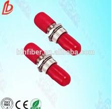 Optical fibre ST fiber adaptors