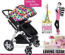 2015 Newest model reversible handle doux bebee baby stroller