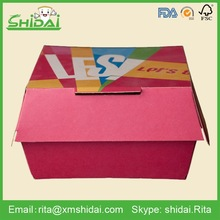 Good selling fast food packing hamburg shaped cardboard boxes