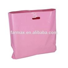 cheapest plastic carrier die cut bags supplier