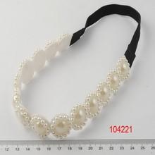 pearl headband/rhinestone headband