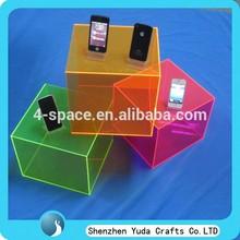 5 side holder acrylic cube box display