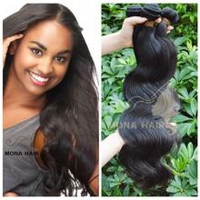 Yes highest grade human hair bundles wholesale body wave 100% virgin brazilian hair