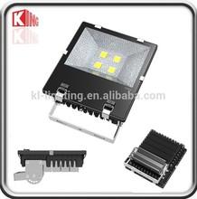 Meanwell driver CE RoHS IP65 cool white led flood light 200 watt
