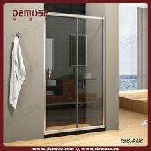frameless sliding glass shower door/glass room